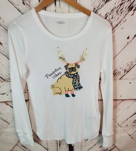 Old Navy Pawsitive Vibes Thermal L